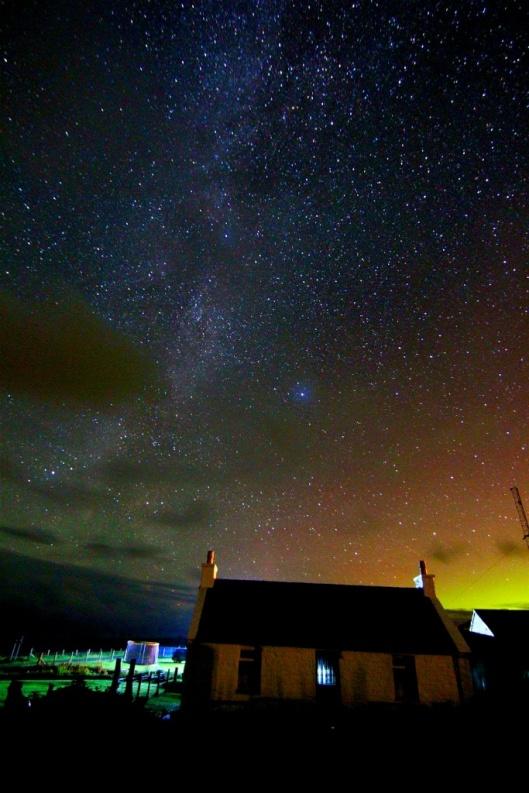 Stars over Eoropie © John Gray
